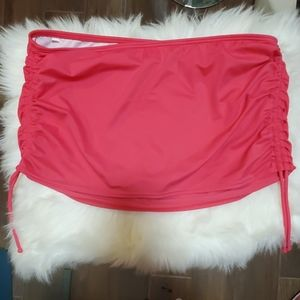 Victoria secret swimsuit pink ruffled sides